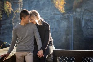 Taughannock Falls Engagement Photography